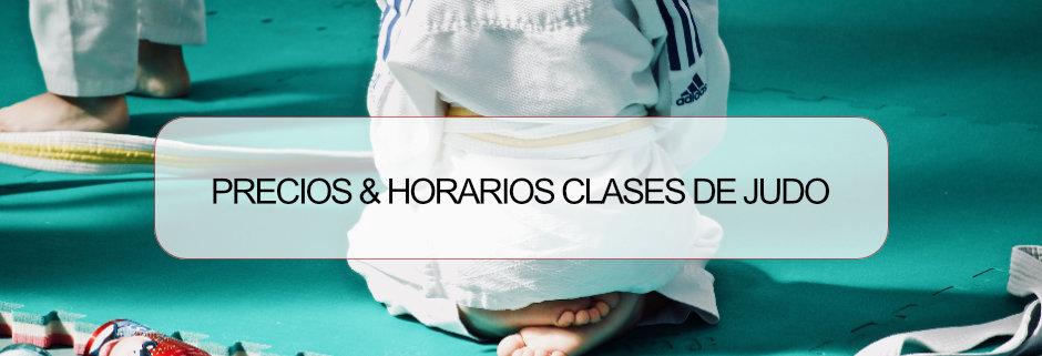 Horarios y precios clases de judo